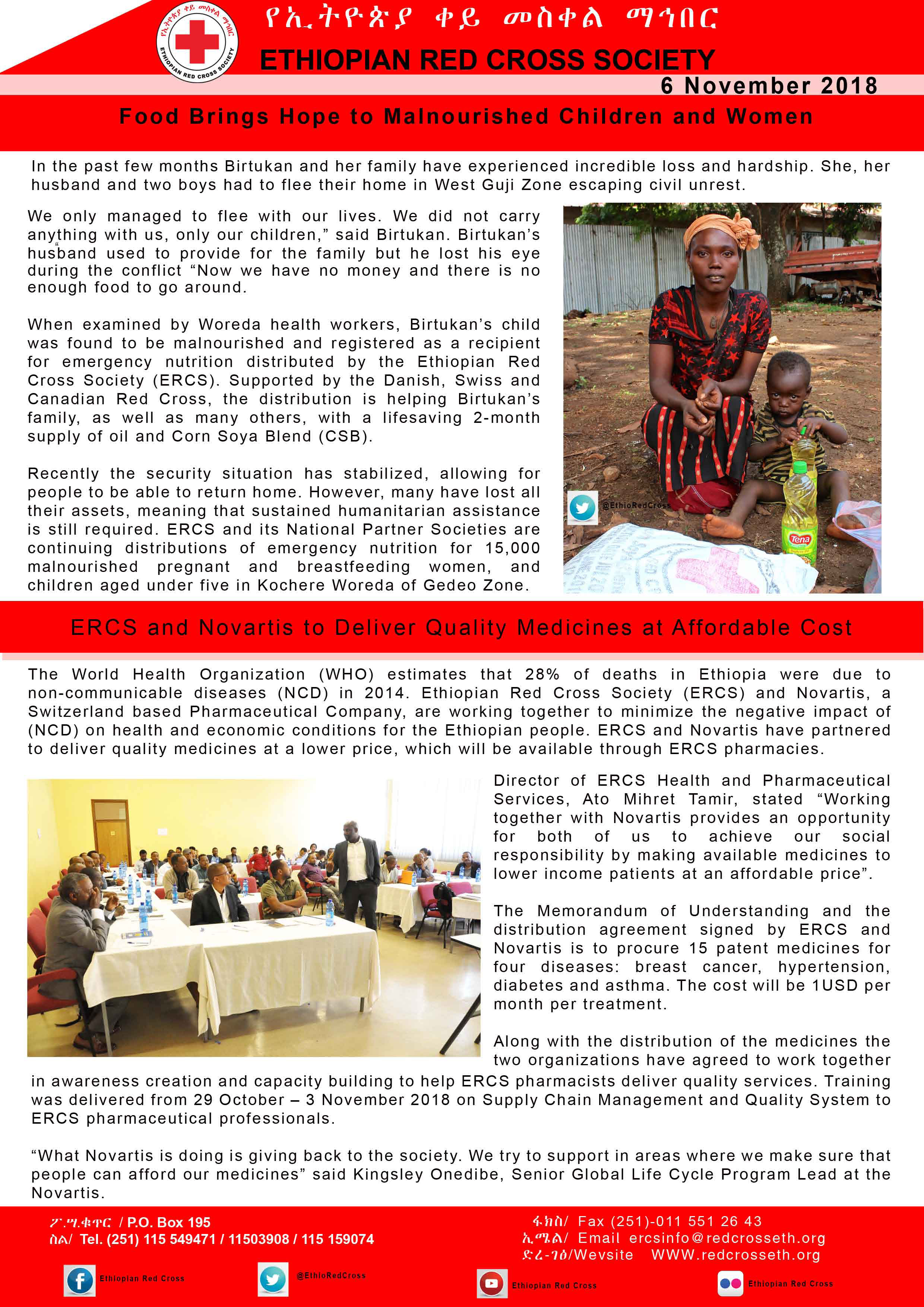 Publication - Ethiopian Redcross Society